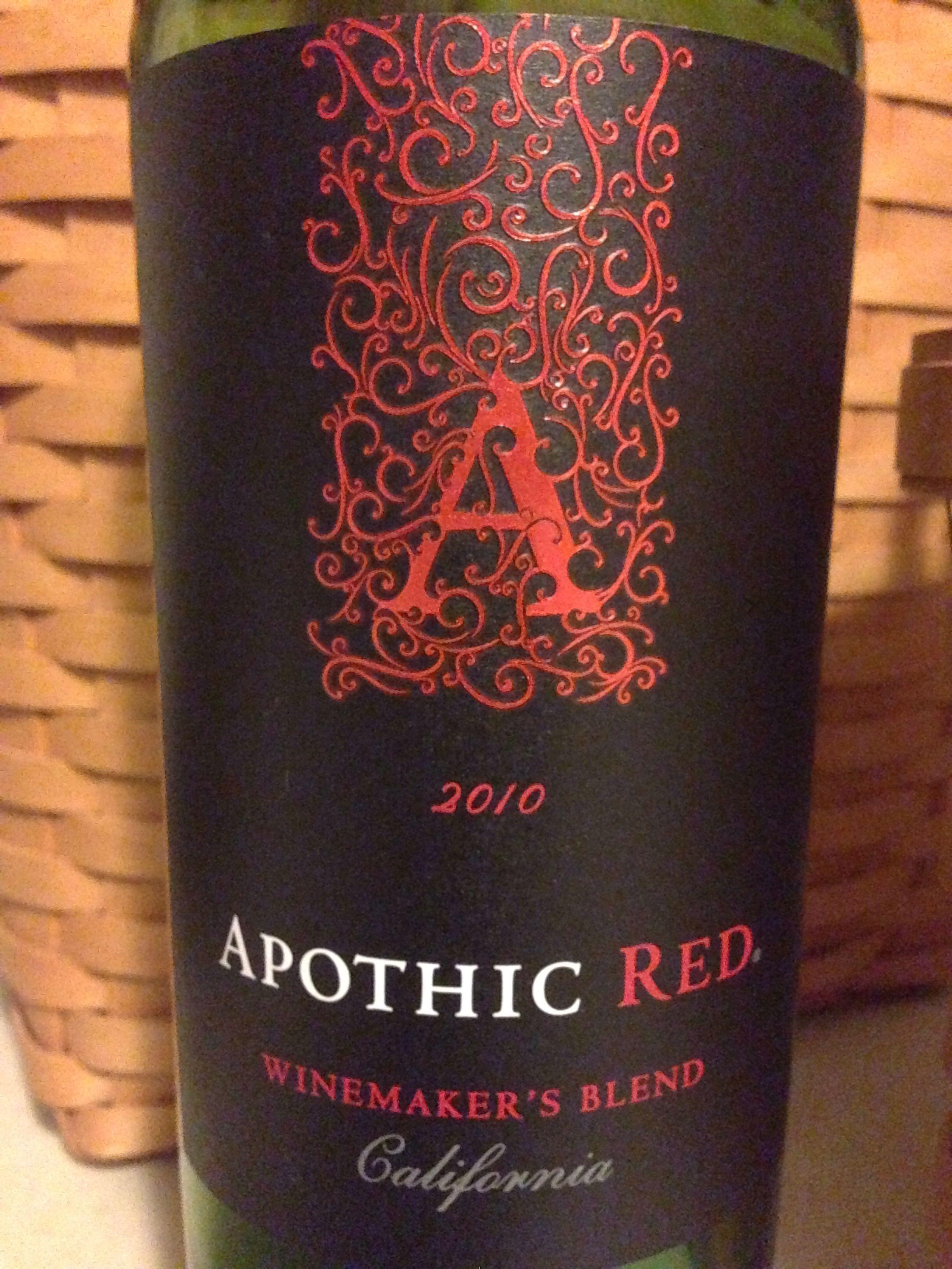 Apothic Red Good Pinot Noir Cheap Wine Winemaking