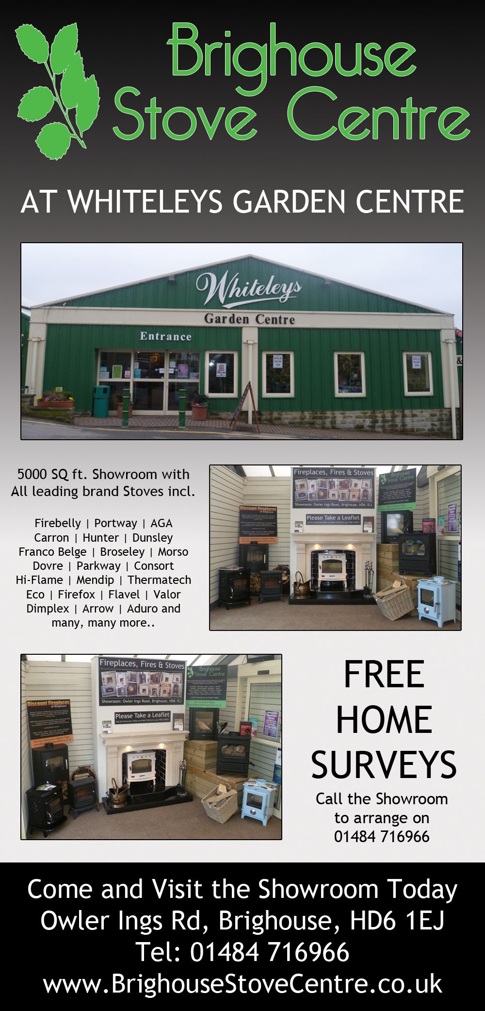 discount fireplaces now in partnership with whiteleys garden