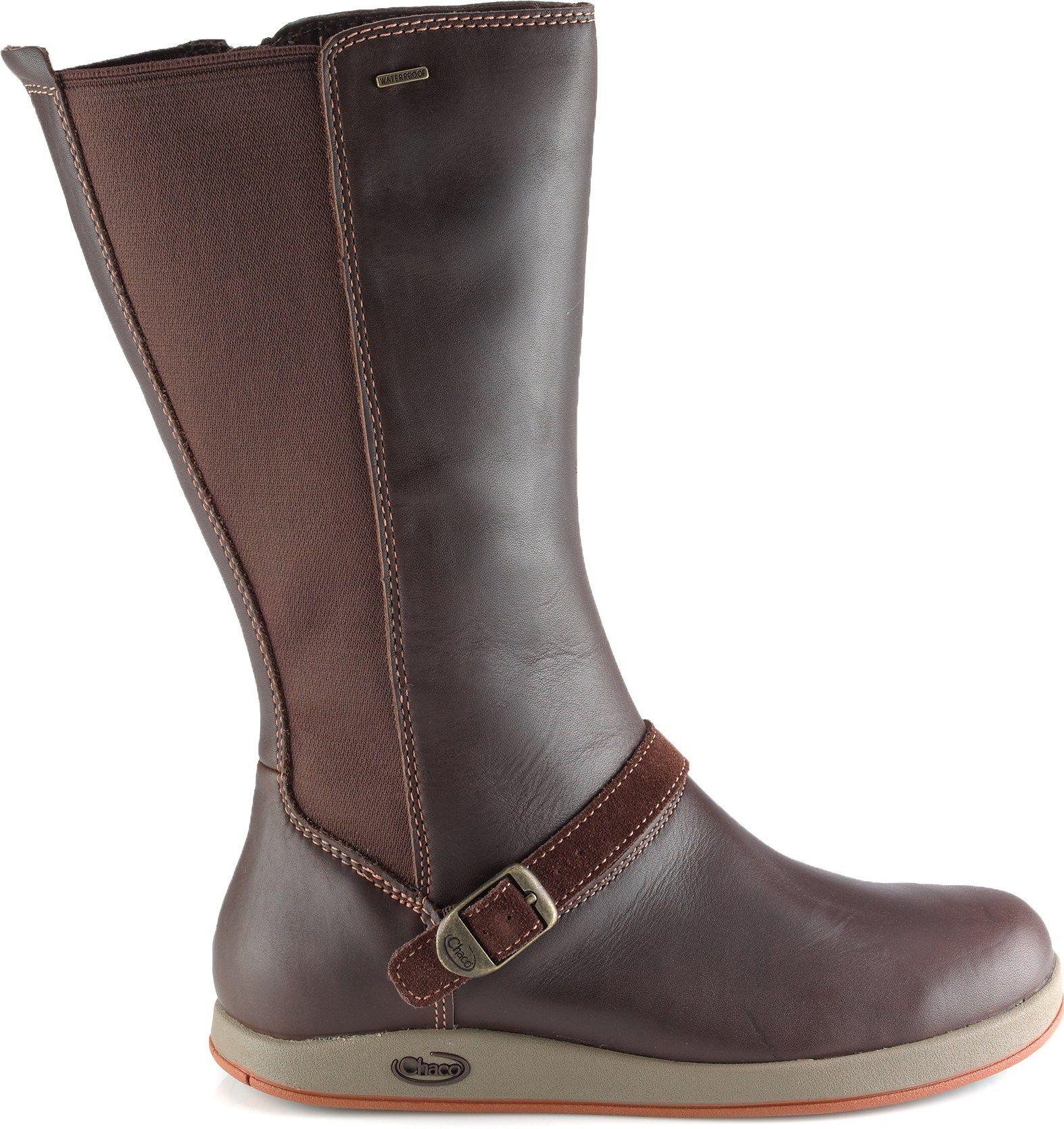 2a8434420ba Details about merrell Womens Captiva Waterproof Knee boots, Espresso ...