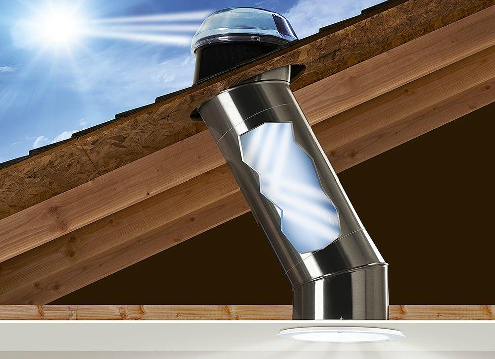7 Ways To Open Up A Windowless Bathroom Windowless Bathroom Tubular Skylights Skylight