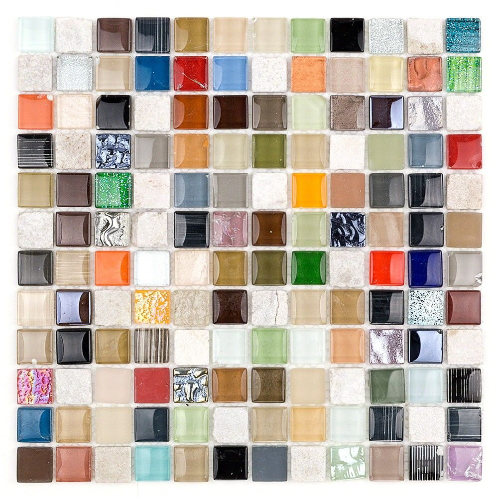 All Spice Glass & Stone Tile | TileBar.com
