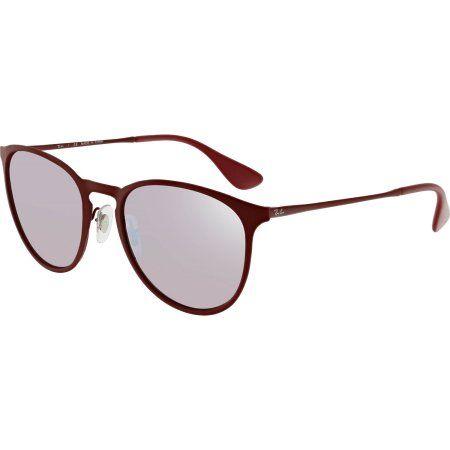 21a71b865e Ray-Ban Erika Metal Bordeaux Sunglasses