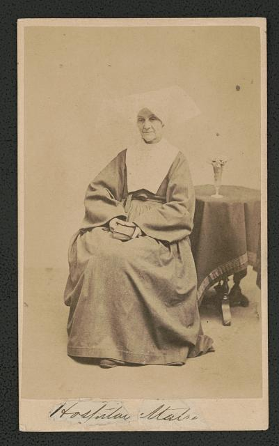 Sister Ann Alexis Shorb of the Daughters of Charity of St