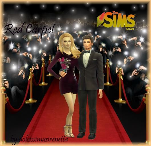 The Sims Lover: Red Carpet – couple poses by dolcissimasirenetta