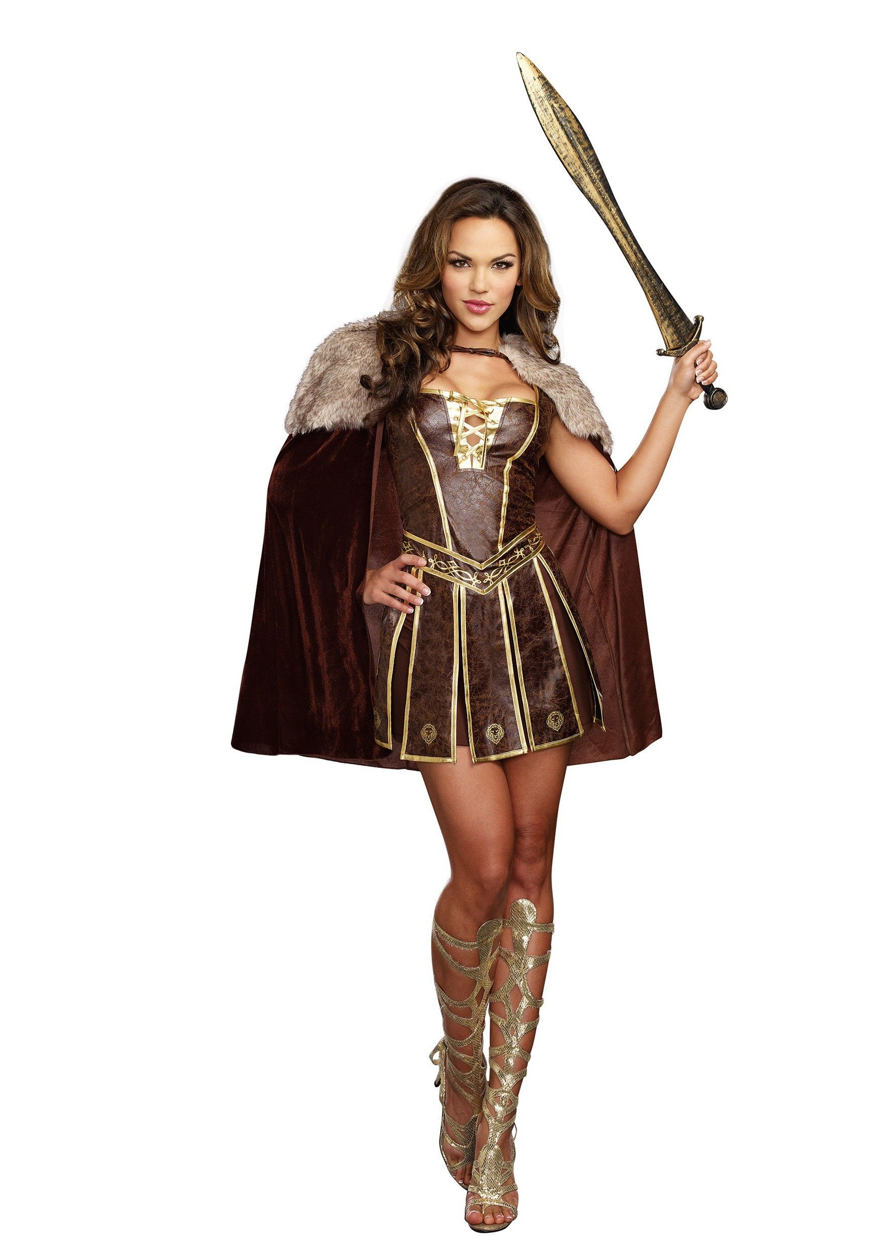 c3312cfccf2 Women s Victorious Beauty Gladiator Costume