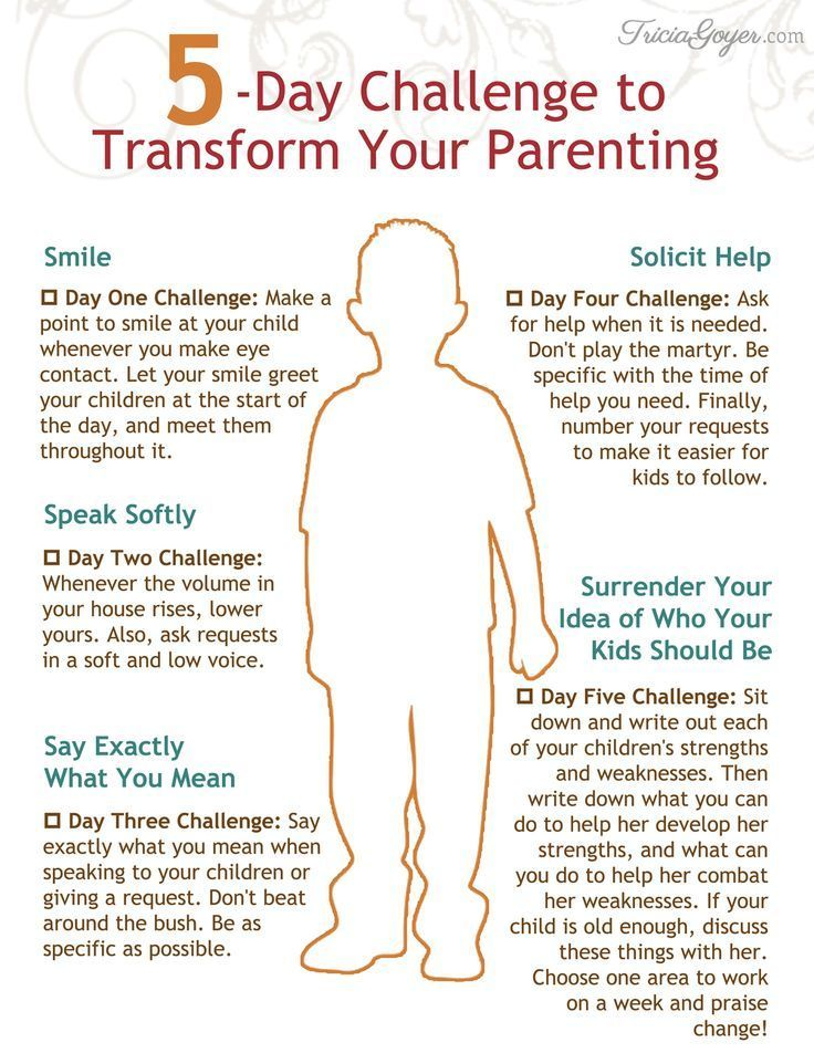 5 Super Simple Habits that Will Transform Your Parenting (Plus a Free Printable) #parenting