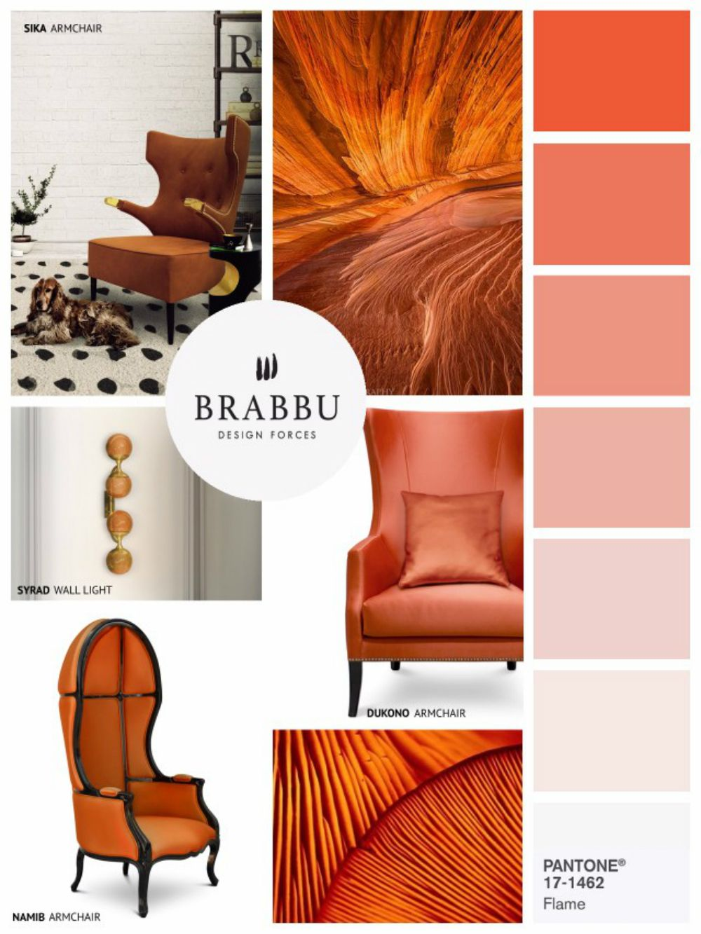 Home decor color trends for spring 2017 according to pantone another color trend taking over the market next year is this stunning flame orange color nvjuhfo Choice Image