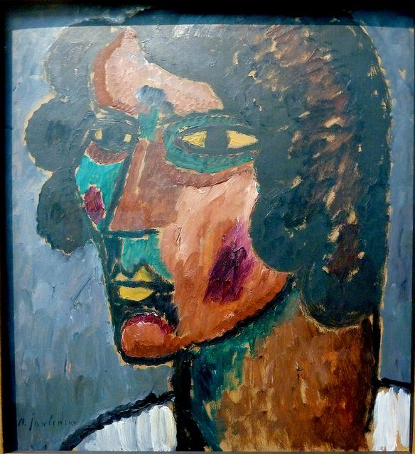 Alexej Von Jawlensky 1913 Portrait Alexander Sacharoff Art Artwork Expressionist Art