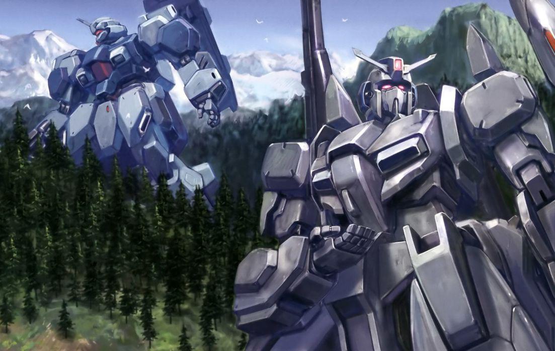 the JUMPGATE Gundam art, Gundam, Gundam model