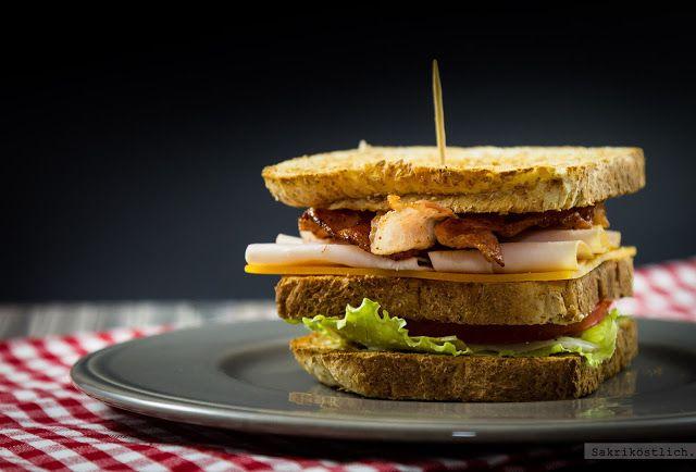 sakriköstlich: BLT Sandwich und Club Sandwich
