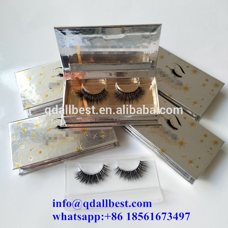 4beac1a152b Qingdao High Quality Handmade Mink Lashes 3d Mink Eyelash with custom  eyelash packaging