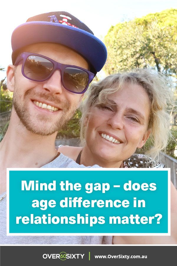 Mind the gap - does age difference in relationships matter