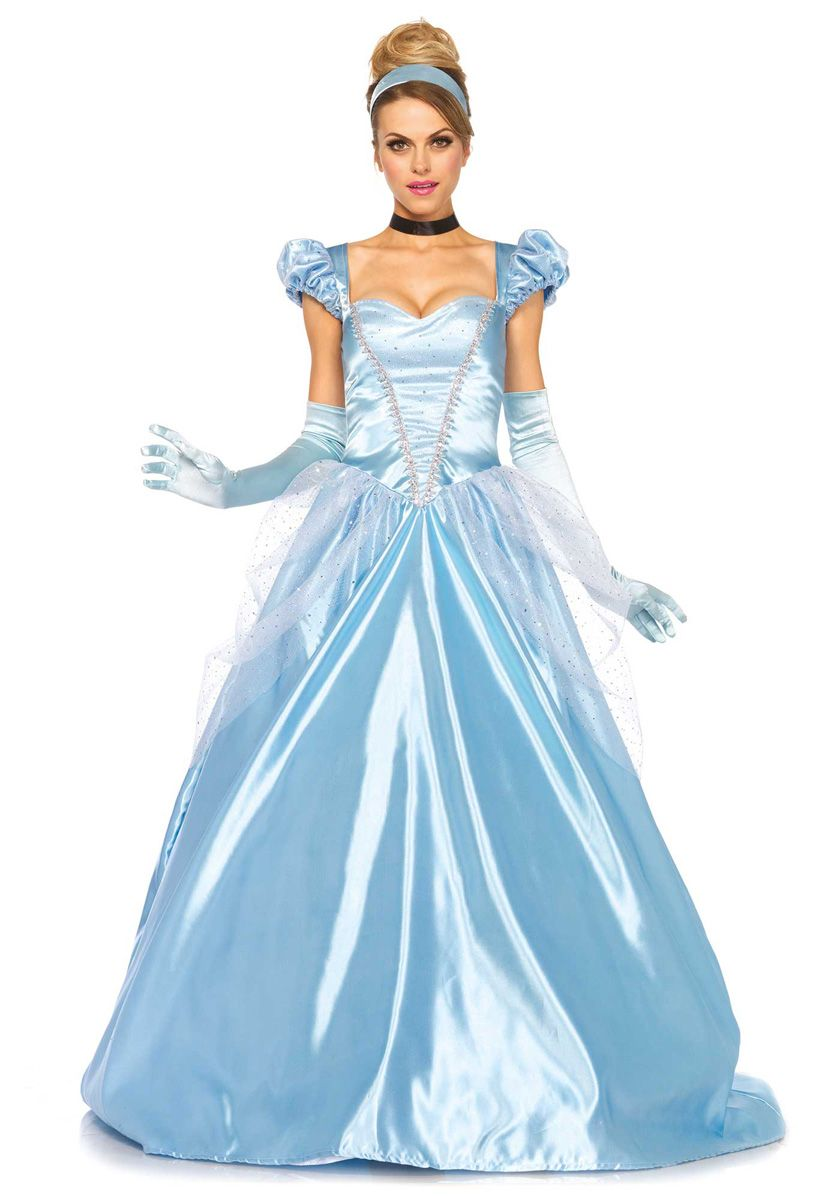 Welp Mooie lange Assepoester/ prinsessen jurk.Carnavalskleding ZT-67