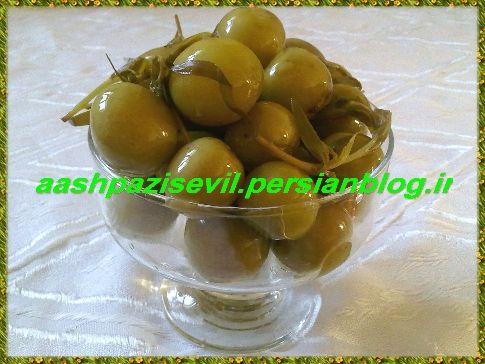ترشی گوجه سبز (آلوچه) - آشپزی سئویل ( آشپزی در مرند)
