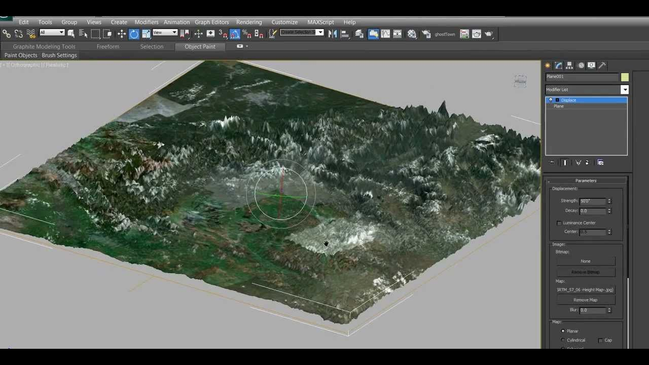 Creating a Highly Detailed 3D Terrain in 3Ds Max (with