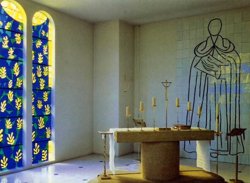 Pin On The Rosaire Chapel Vence France
