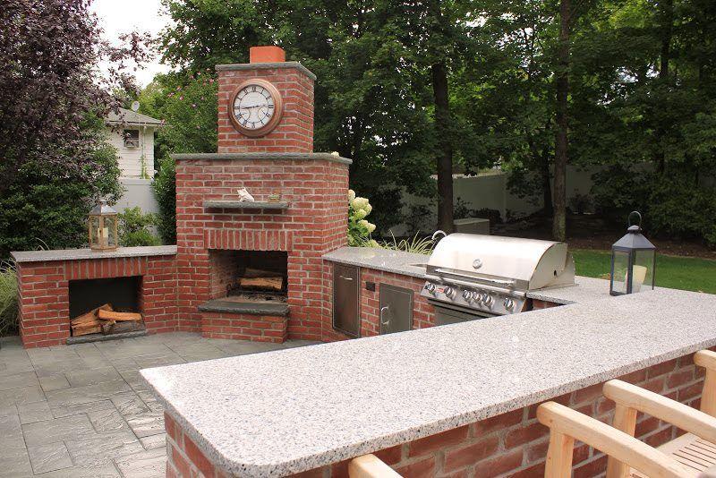 outdoor brick kitchen designs. brick outdoor kitchen design bergen