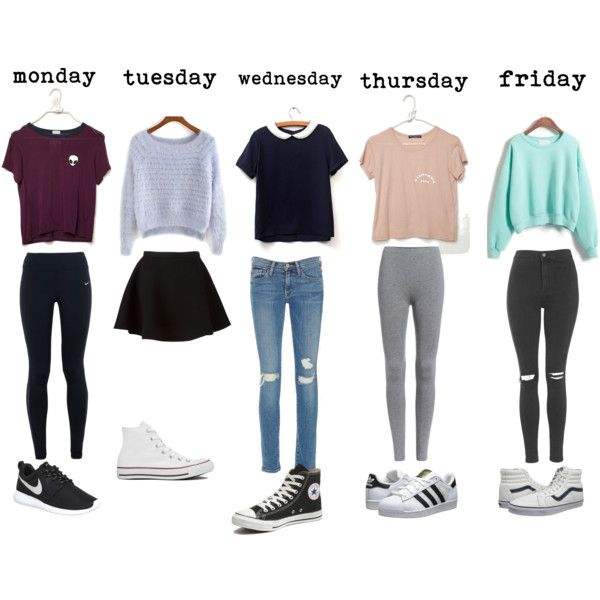 Outfits for school 1