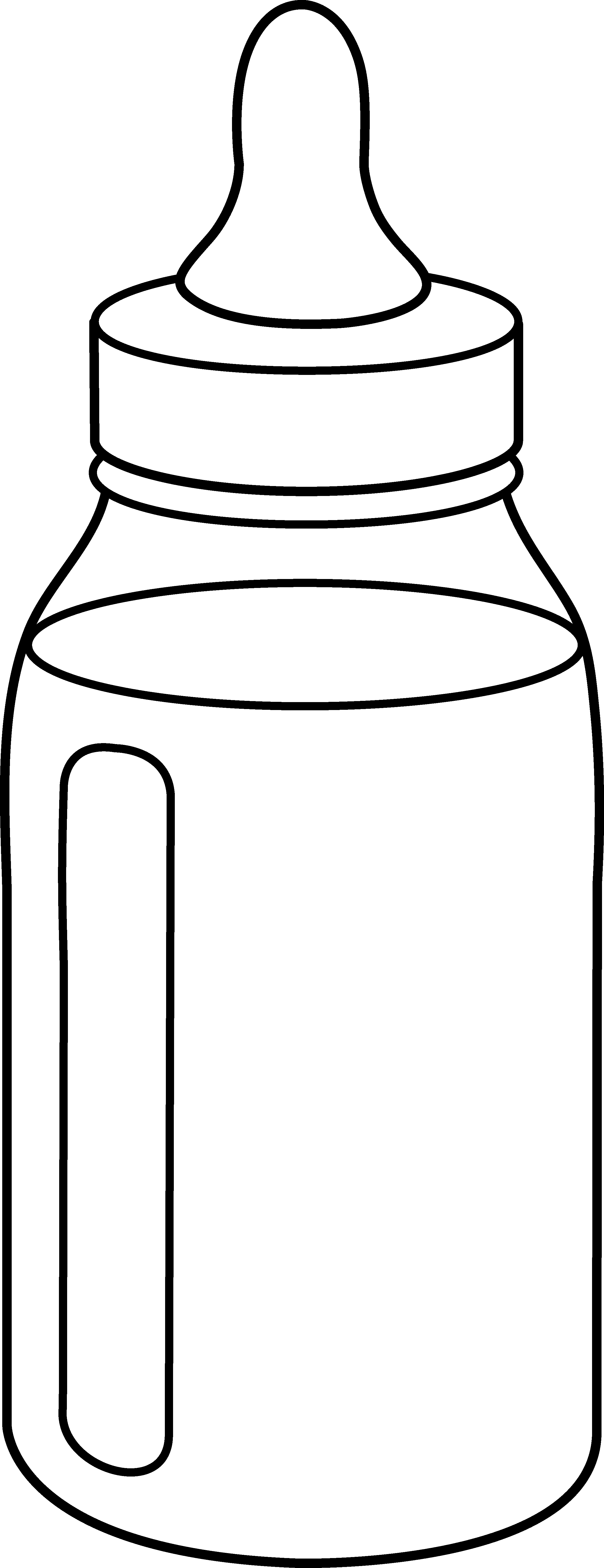 21+ Baby bottle clipart black and white info
