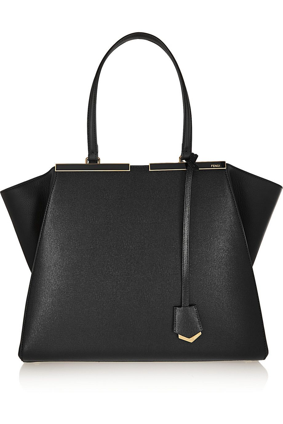 Fendi   3Jours medium textured-leather tote   NET-A-PORTER.COM ... 1876745f0a
