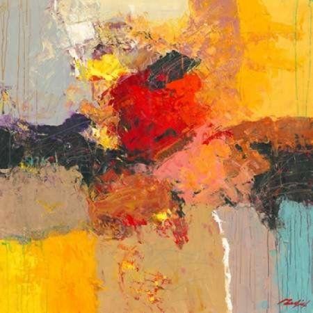 Posterazzi Abstract II Canvas Art - Madjid (24 x 24)
