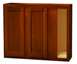 Kitchen Kompact Glenwood 39 X 30 Beech Blind Corner Wall Cabinet