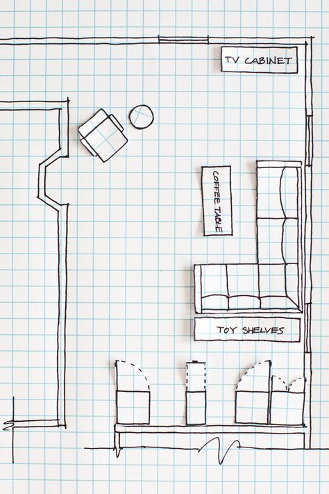 How To Draw A Floor Plan A Beautiful Mess Floor Plan Design Living Room Furniture Layout Bedroom Floor Plans