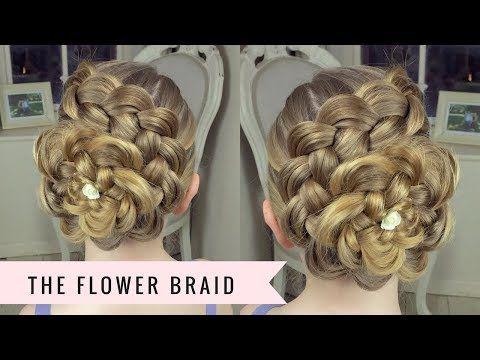Dutch Flower Braid | Updos | Cute Girls Hairstyles - YouTube ...