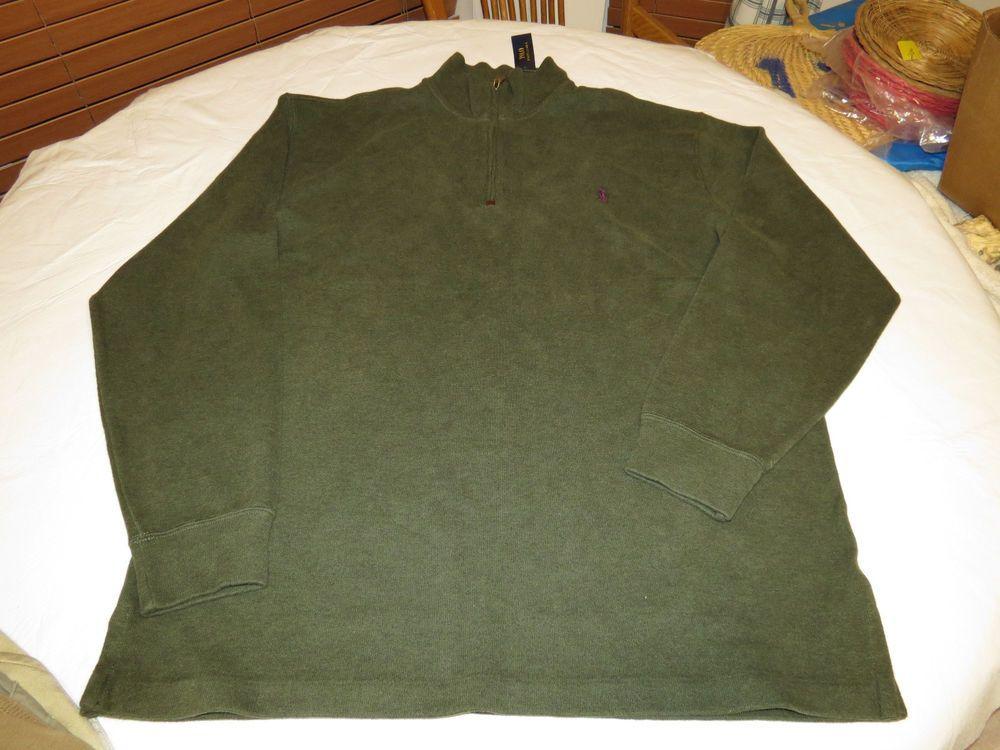 Polo Ralph Lauren sweater pull over shirt Big & Tall 2XB BIG Mens 711523994015 #PoloRalphLauren #sweaterpolo