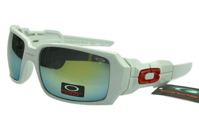 Oakley Lifestyle Sunglasses White Frame Colorful Lens 0696 [ok-1706] - $12.50 : Cheap Sunglasses,Cheap Sunglasses On sale