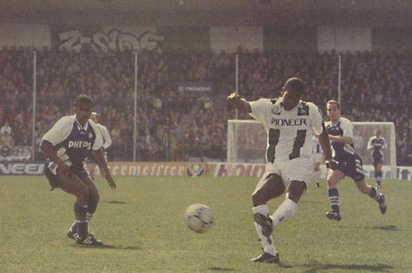 02-04-'95: Met dank aan 'Romano Sion, de Ronaldo van FC Groningen' (De Telegraaf), werd #PSV met 3-2 verslagen.