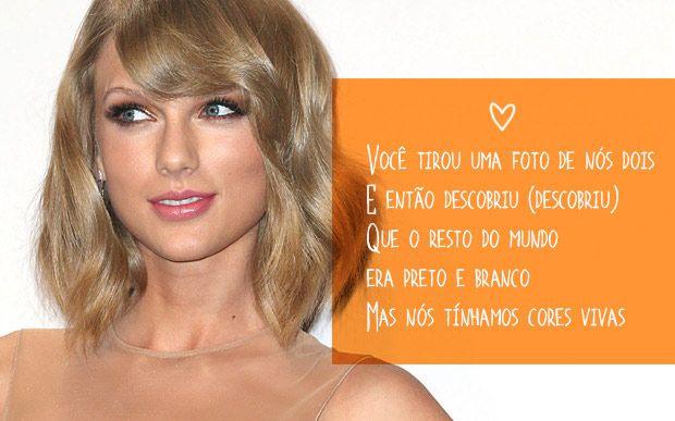 10 frases inspiradoras do novo álbum da Taylor Swift Música: Out Of The Woods