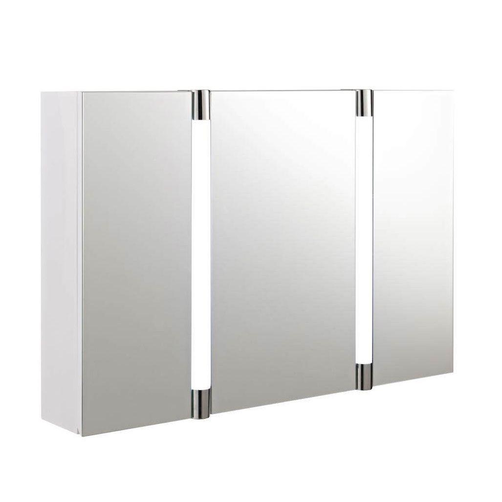 3 door mirrored bathroom cabinets | ideas | Pinterest | Mirror ...