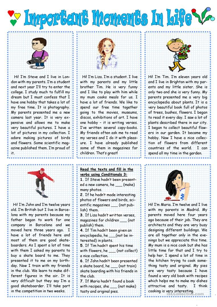 Important Moments In Life English Esl Worksheets For Distance Learn Reading Comprehension Lessons Reading Comprehension Kindergarten English Stories For Kids [ 1079 x 763 Pixel ]