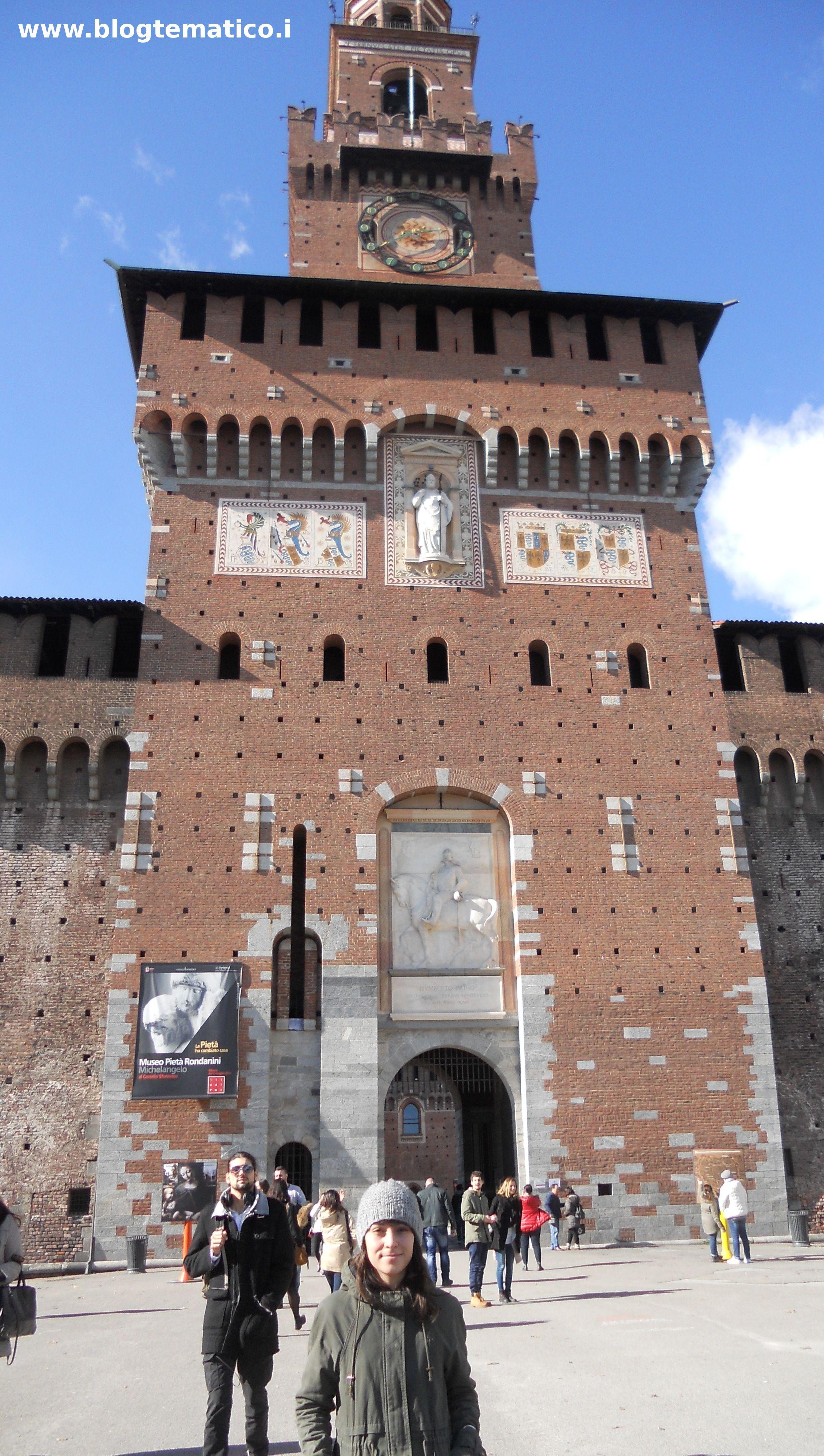 Milano:mia figlia Claudia davanti al Castello Sforzesco- _______________________ -ITALIA by Francesco -Welcome and enjoy- #WonderfulExpo2015 #Wonderfooditaly #MadeinItaly #slowfood #FrancescoBruno @frbrun http://www.blogtematico.it frbrun@tiscali.it http://www.francoingbruno.it #Basilicata
