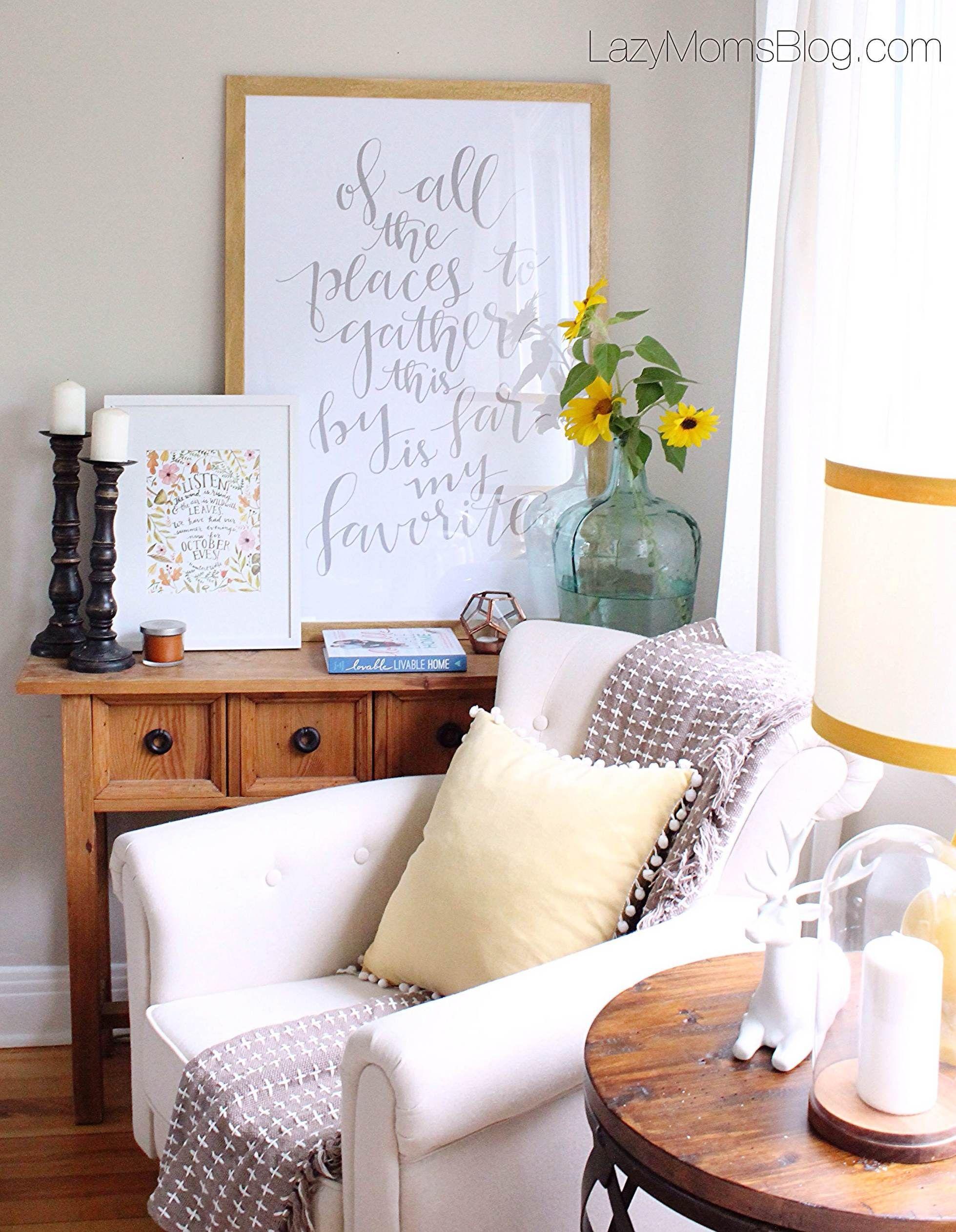 Easy And Cheap Fall Decorating Ideas Joanna Anastasia