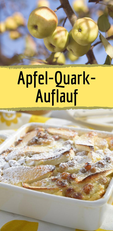 Fettarmer Apfel-Quark-Auflauf für bewusste Genießer ...