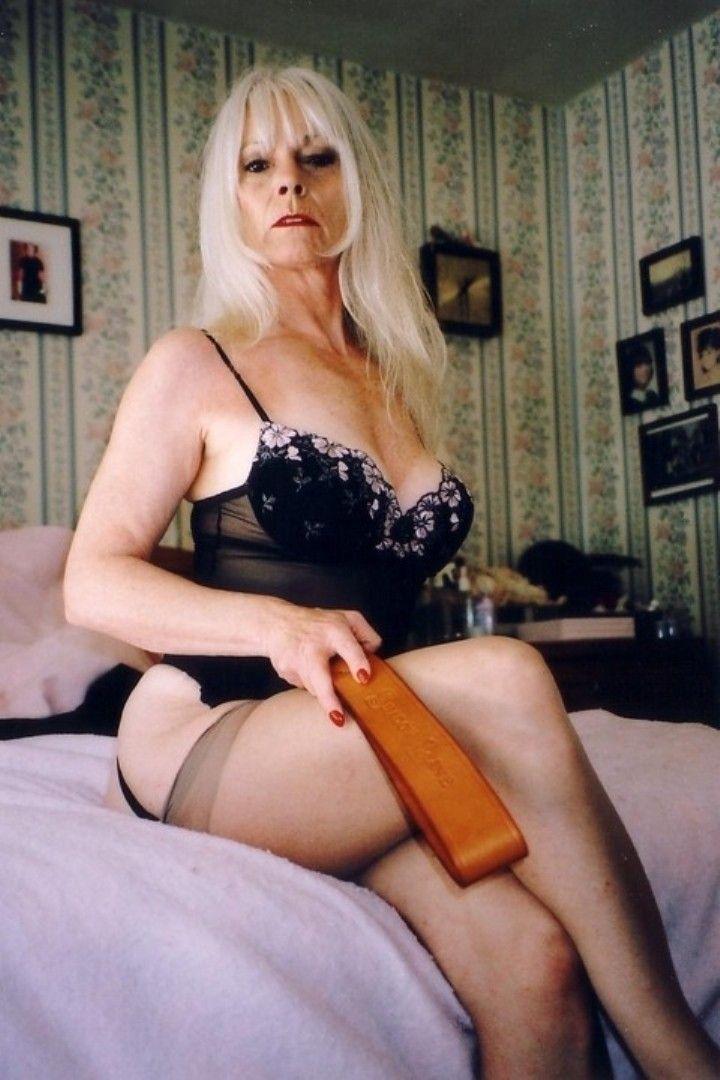 Mature female disciplinarian