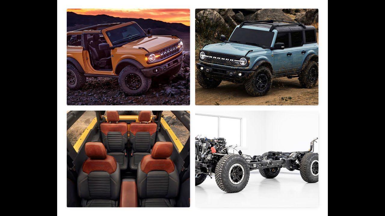2021 Ford Bronco comes impressive specs and innovative