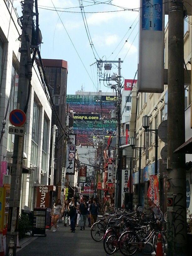Osaka street  일본 그닥 좋아하진 않았는데 나름의 분위기는 good