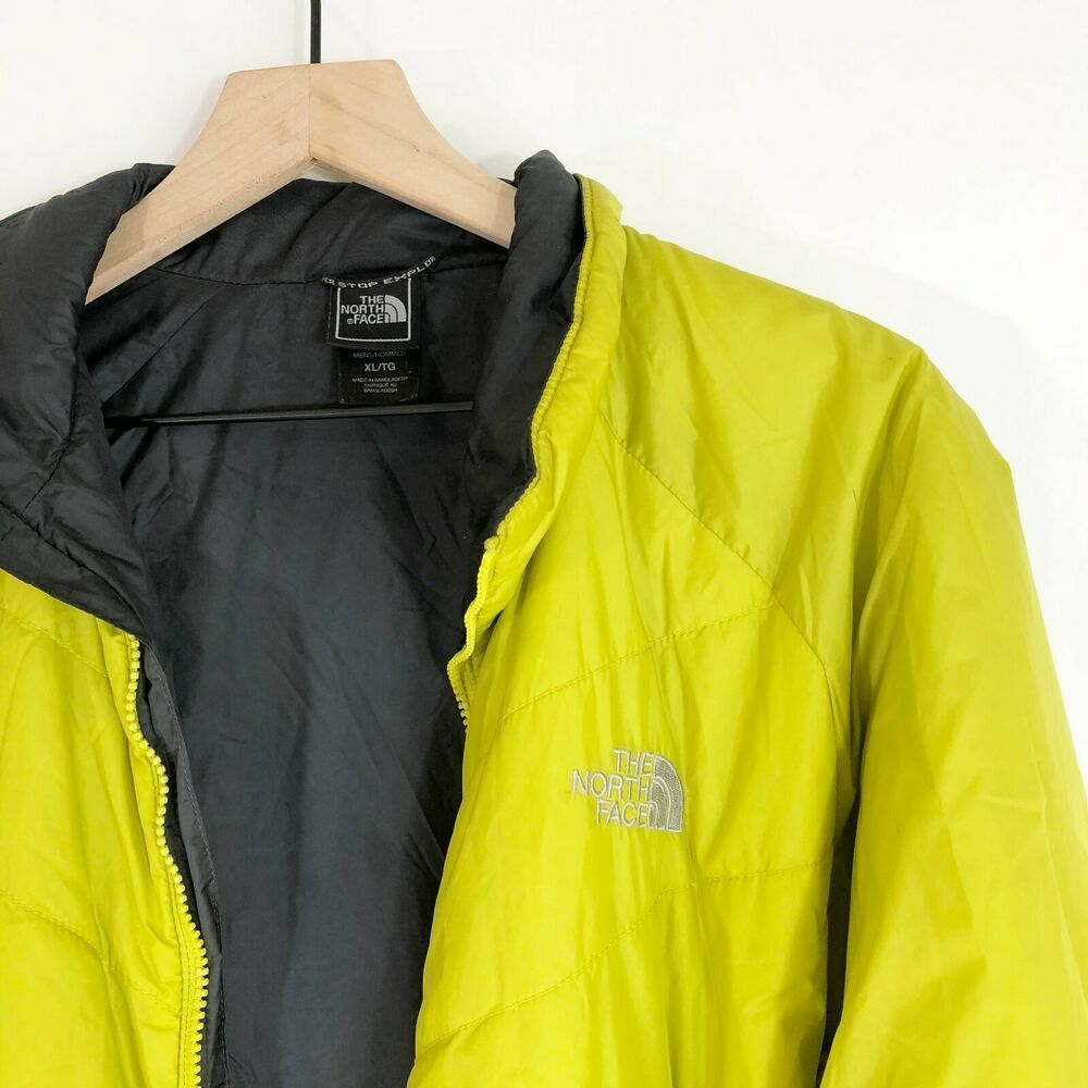 The North Face Lime Green Junction Jacket Xl Insulated Zip Pockets Poly Mens Thenorthface Basic Jackets Clothes For Women Clothes [ 1000 x 1000 Pixel ]