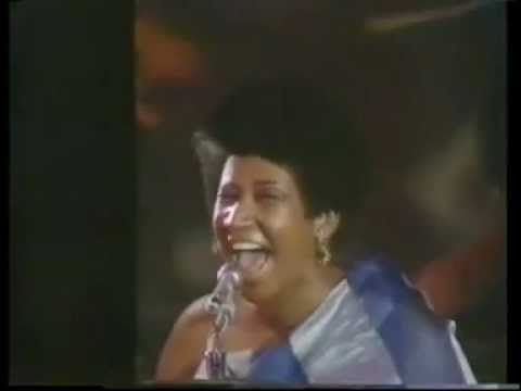 Aretha Franklin Bridge Over Troubled Water Live Grammys