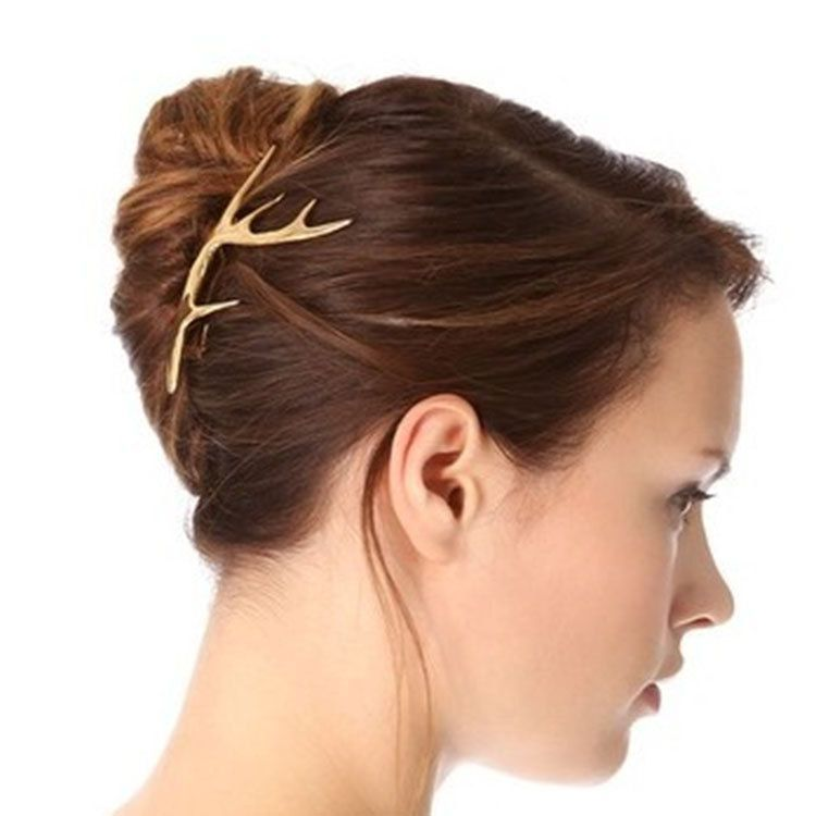 Vintage Branch Hair Clip Antler Hair Pin