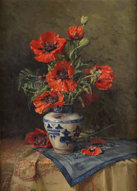 ✿ Artist: Clara von Sivers ~ Still Life, not with Roses but so beautiful