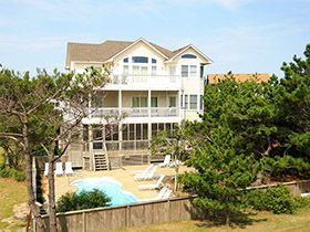 Outer Banks Rentals Semi-Ocean Front,Rodanthe Nights,Waves NC cape hatteras