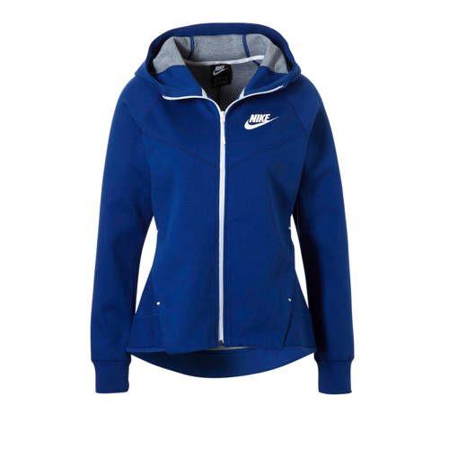 Nike sweatvest blauw - Nike, Trui vest en Mouwen