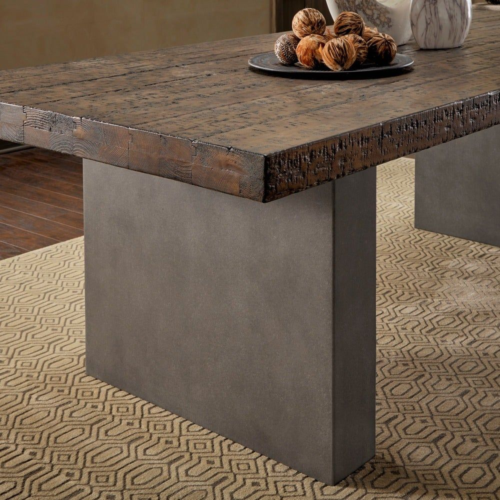 Overstock Com Online Shopping Bedding Furniture Electronics Jewelry Clothing More In 2020 Concrete Dining Table Traditional Dining Room Table Dining Table