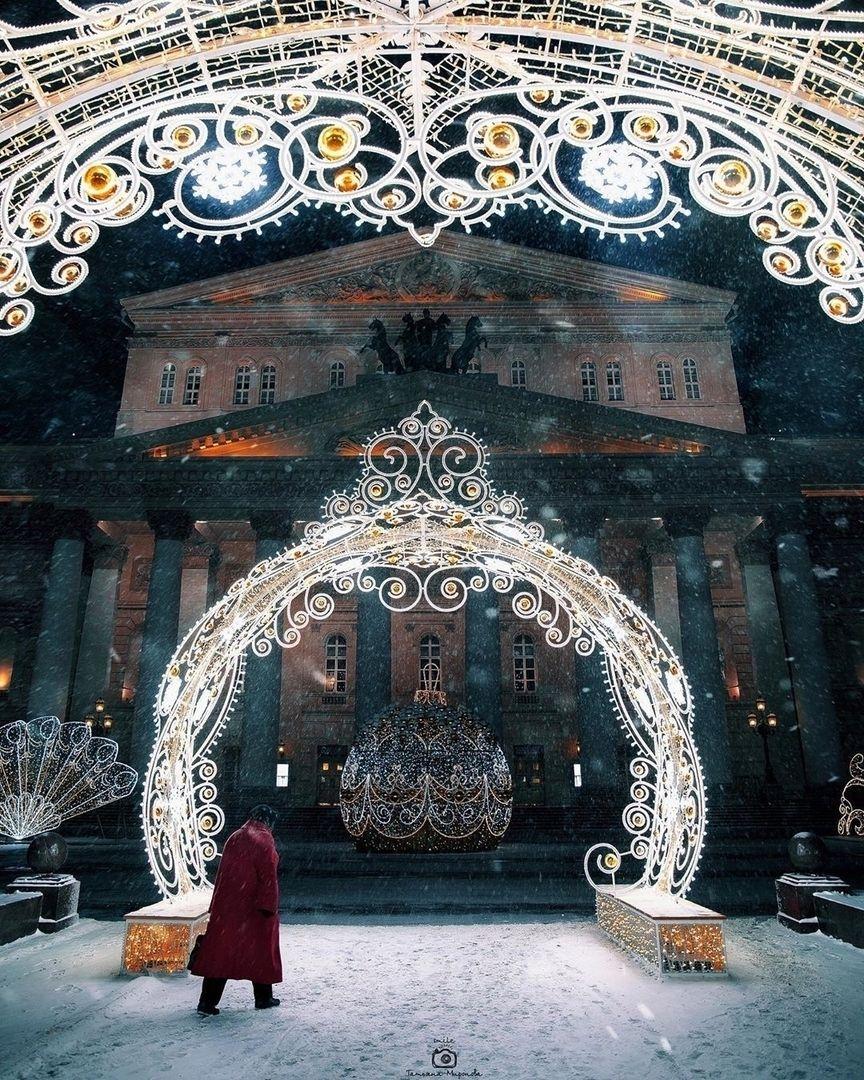 Большой театр, Москва. Автор фото @mironovatanyahoo Выбор ...