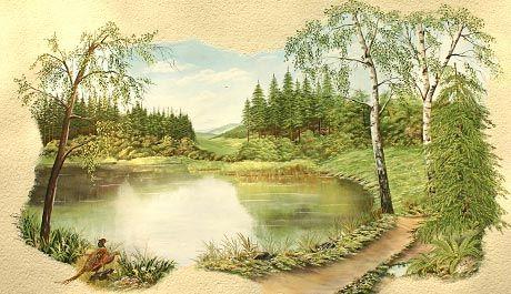 Wandmalerei, Illusionsmalerei U0026 Dekorationsmalerei