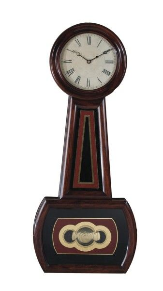 E Howard No 3 Weight Driven Eight Day Banjo Clock Clock Antique Wall Clock Antique Clocks